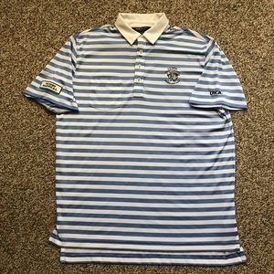 Polo Ralph Lauren Golf US Open striped shirt L